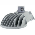 Hubbell DDL-140L1 Multi-Purpose LED Dusk-to-Dawn, 43.5W, 5279L, 5000K, Gray w/ Arm, 120V