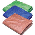 Hygrade Blue Poly Tarp MT-1216, 5 Mil, 12'L X 16'W
