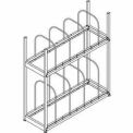 "QS Tiered Carton Rack 18""Dx54""Lx60""H"