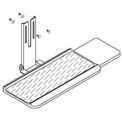 QS Multi-Task System Keyboard Holder W/Mouse Pad Assembly