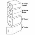 "QS Workmaster™ 6"" Double Drawer Assembly EZE Blue"