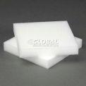 """White Foam Pad, 6""""W X 6""""L X 1""""D - Pkg Qty 50"""