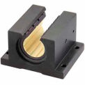 "IGUS OJUI-11-24 DryLin R Open Pillow Block Polymer Bearing with shell - 1-1/2""Dia. Shaft"