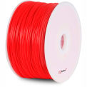 FLASHFORGE USA BuMat Elite ABS Fluorecent Filament, Red Color, 1.75 mm