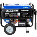 DuroMax XP4400E Gas Generator W/Electric Start & Wheel Kit, RV Grade 4,400W 7.0HP
