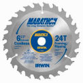 "Cordless Circular Saw Blade-6-1/2"" x 40T Trim/Finish, 5/8"" Arbor-Carded"