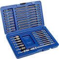34 Pc. Fastener Drive Set-Fastener Drive Tool Set