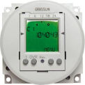 Intermatic FM1D50A-12 Electronic 24-Hour/7-Day Timer Module, Surface/DIN Rail Mount, 16A, 12V AC/DC