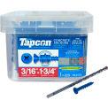 "ITW Tapcon Concrete Anchor - 3/16 x 1-3/4"" - Phillips Flat Head - Pkg of 225 - 24555"