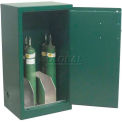 "Medical Gas Cylinder Cabinet with Aluminum Divider, 2 Doors, 43""W x 18""D x 44""H"