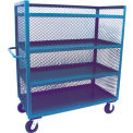 3 Sided Mesh Truck 24 X 48 Four Shelves