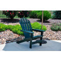 Jayhawk Plastics Cape Cod Adirondack Chair, Green