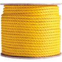 "BOEN Polypropylene 3-Strand Rope YR-141200 - 1/4"" x 1200' - 17 Lb. - Yellow"