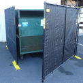 Dumpster Enclosure With Gate - 7-1/2' x 7-1/2'