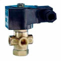 "1/4"" 3/2 Way Solenoid Valve For Pneumatic and / or Hydraulic Use 24V DC"