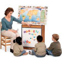 Jonti-Craft® Sproutz® Big Book Easel - Magnetic Write-n-Wipe - Red