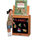 Jonti-Craft® Sproutz® Big Book Easel - Flannel - Black