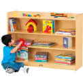 """Jonti-Craft® Mobile Bookcase with Top Ledge, 48""""W x 15""""D x 35-1/2""""H, Birch Plywood"""