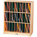 "Jonti-Craft® Portfolio Mailbox, 30, 29""W x 15""D x 35-1/2""H, Birch Plywood"