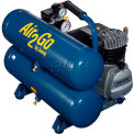 Jenny® Hand Carry Compressor A2G246-HC4V-115V, 1PH, 2HP, 125 PSI, 4.8 Gal