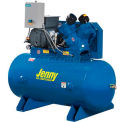 Jenny® Horizontal Stationary Compressor G5A-60-230V, 1PH, 5HP, 125 PSI, 60 Gal