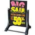 "Magic Master Swinger Write On/Wash Off Marker Board 24""W X 36""H-Black"