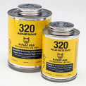 320 Contact Adhesive 1/2 Pint With Brush Top - Pkg Qty 48