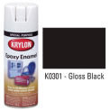 Krylon Epoxy Enamel Paint Gloss Black