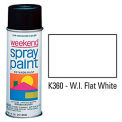 Krylon Industrial Weekend Economy Paint WI Flat White