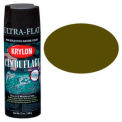 Krylon Camouflage with Fusion for Plastic Paint Olive Drab