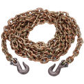 Kinedyne Grade 70 Chain 10038-20BX with Hooks in Box - 20' x 3/8""