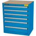 Kennedy 6-Drawer Hybrid Modular Cabinet w/Full Extension Drawers-29x20x31,U Blue