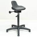 Sit Stand Stool - Polyurethane - Black