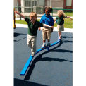 Curved Balance Beam - 8Ft In Blue, For Ages 2-12