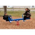 Spring See Saw For 2 Preschoolers In Blue/Red Combination, For Ages 2-5