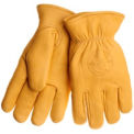Deerskin Work Gloves, KLEIN TOOLS 40018, 1-Pair