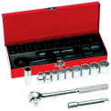12 Pc. Socket Sets, KLEIN TOOLS 65510