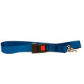 Kemp 2 Piece Spine Board Strap With Seatbelt Buckle, Metal Ends, 10-304