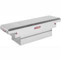 Weather Guard Saddle Truck Box, Aluminum Compact Low Profile 8.7 Cu. Ft. - 131-0-01