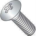 4-40X1/4  Phillips Oval Machine Screw Fully Threaded 18 8 Stainless Steel, Pkg of 5000