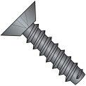 6X1/4  Phillips Flat Undercut Self Tapping Screw Type B Fully Threaded Black Oxide, Pkg of 10000