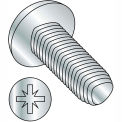 6-32X3/8 Pozi Drive Pan Taptite Alternative Thread Rolling Full Thrd Zinc Bake &Wax,10000 pcs