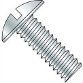 6-32X7/8  Slotted Truss Machine Screw Fully Threaded Zinc, Pkg of 10000