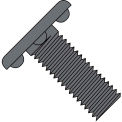 8-32X3/4  Weld Screw With Nibs Under The Head Fully Threaded Plain, Pkg of 5000