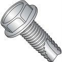 10-24X3/8  Unslot Ind Hex Washer Thread Cutting Screw Type 23 Full Thread 18 8 Stainless St,4000 pcs