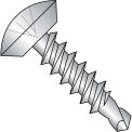 10X1/2  Phillips Oval Undercut Self Drilling Screw  Full Thread 18 8 Stainless Steel, Pkg of 5000