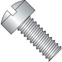 12-24X1  Slotted Fillister Machine Screw Fully Threaded 18 8 Stainless Steel, Pkg of 2000