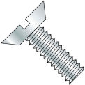 1/4-20X5/16  Slotted Flat Undercut Machine Screw Fully Threaded Zinc, Pkg of 7000