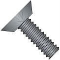 1/4-20X1/2  Phillips Flat Undercut Machine Screw Fuly Threaded 18 8 Stainless Steel Blk Ox,1000 pcs