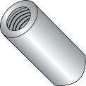 4-40 x 3/4 One Quarter Round Standoff - Brass Nickel - Pkg of 500